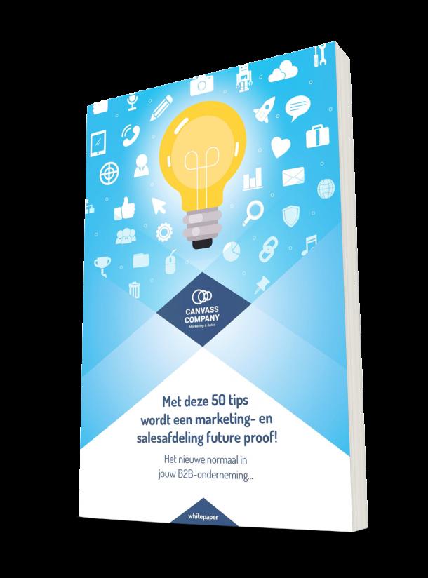 Met deze 50 tips wordt een marketing- en salesafdeling future proof!