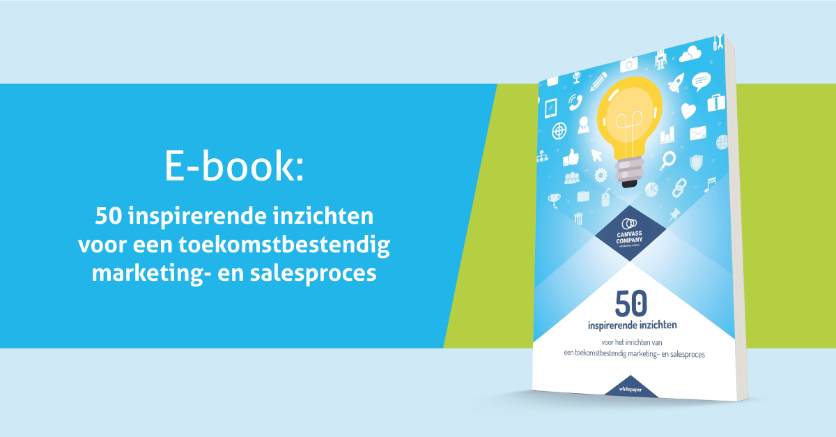 E-book 50 inspirerende inzichten voor een toekomstbestendig marketing- en salesproces!