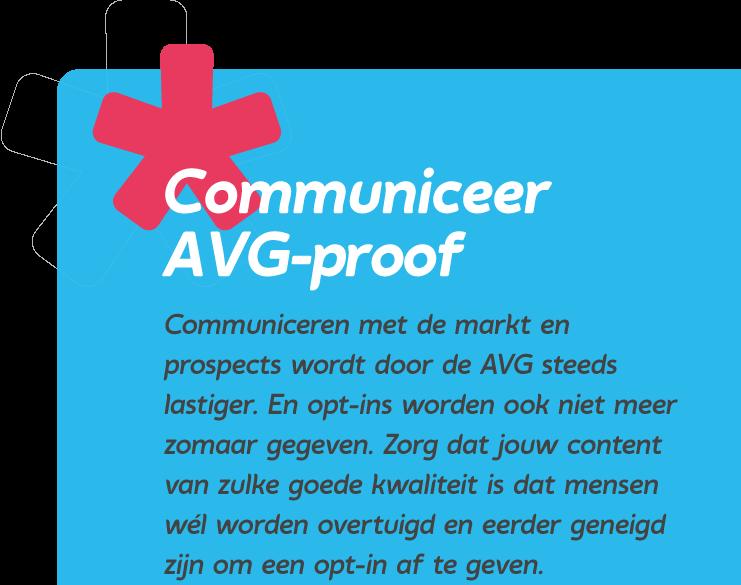Communiceer AVG proof